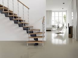 genius modular stairs metal steel and wood spiral staircase