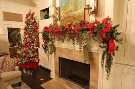 splendid design ideas mantle garland with lights mantel