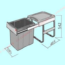 poubelle cuisine 40 litres poubelle 40 litres achat vente de gestion des déchets pour cuisine
