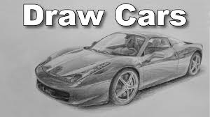 pencil 3d shading sketches of cars 4 best drawing techniques to