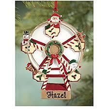 world ferris wheel glass blown ornament