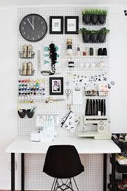 bureau des rangers déco 12 idées pour aménager atelier couture dans un petit