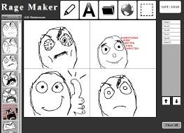 dan awesome s rage maker is a non memebase rage comic editor