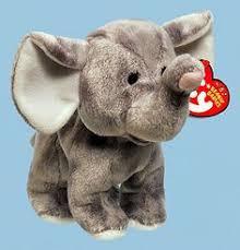 ty beanie boos ellie elephant keyring clip elephant beanie