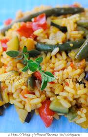 giallo zafferano cucina vegetariana paella vegetariana ricetta con verdure e zafferano arte in cucina