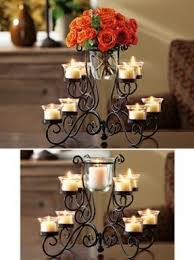 Candle Holder Chandeliers Wrought Iron Votive Candle Holder Foter