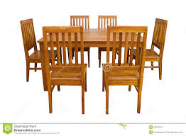 free dining room table dining table and chairs isolated royalty free stock photo image