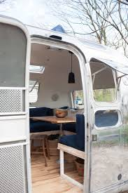Rv Renovation Ideas by Vintage Airstream Custom Built For Modern Living On The Go