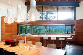 natural nice design of the contemporary lodge homes can be decor