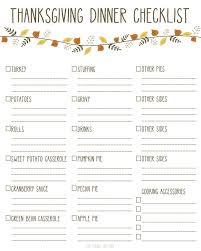 printable thanksgiving dinner checklist and recipes printable thanksgiving dinner checklist and recipes thanksgiving
