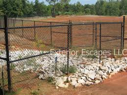 chain link fence greenville sc south carolina exterior