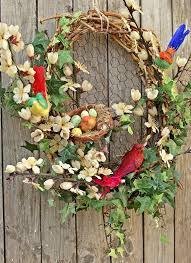 whimsical spring forsythia wreath jenna burger spring wreaths easter wreaths easter decor spring decor easter
