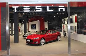 Tesla Speeds Into Bluewater