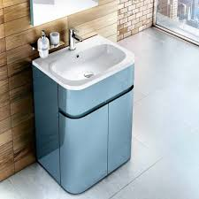 britton bathrooms gullwing 600mm floor standing vanity unit