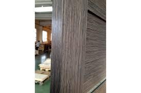 Interior Veneer Doors Venice Grey Oak Wood Veneer Modern Interior Door With Glass