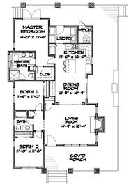 craftsman style house plan 3 beds 2 00 baths 1564 sq ft plan 490 25