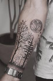 110 awesome forearm tattoos forest forearm forearm