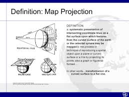Map Projection Definition Coordinate Systems Projections U0026 Introduction To Choropleth Maps
