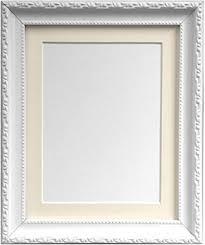 cornici con vetro frames by post ap3025 cornice portafoto con passepartout avorio 20