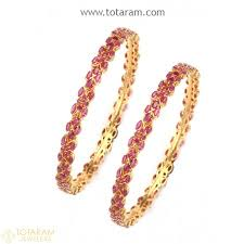 bracelet gold patterns images 22k gold ruby emerald bangles indian gold jewelry buy online jpg