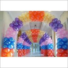 party balloon decoration services birthday party balloon