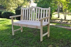 White Wooden Garden Furniture Loon Peak Buffalo Peak Wood Garden Bench U0026 Reviews Wayfair