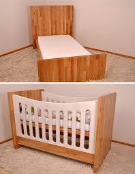 Small Baby Beds Crib Couch U0026 Bed Convertible Furniture Grows With Kids