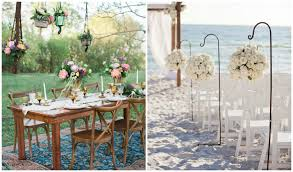 beach wedding ideas to bring out your inner bohemian featuring ti