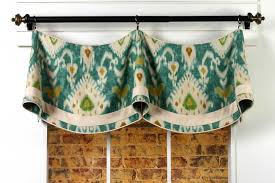 Drapery Medallions Hardware Claudine Curtain Valance Sewing Pattern Pate Meadows