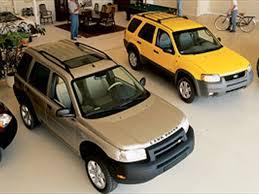 toyota rav vs honda crv 2001 ford escape vs 2002 honda cr v vs 2002 land rover