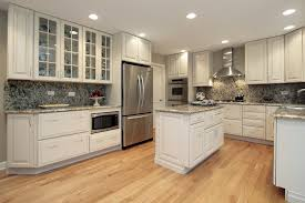 Corner Kitchen Cabinet Sizes Kitchen High Glossy Kitchen Cabinet With Modern Sliding Glass