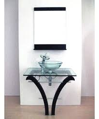 Glass Bathroom Vanity Glass Bathroom Vanities Pedestal Glass Bathroom Vanity And