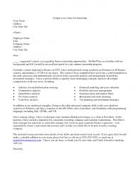 Cover Letter Business Proposal by Cover Letter Example 1 Sincerely Duke Student 2 S Intern Resume