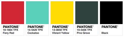 palette pantone ispo color palette spring summer 2018 fashion trendsetter