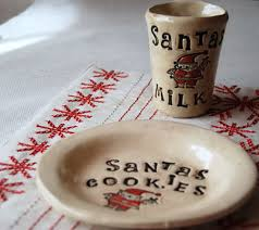 15 handmade vintage and diy cookie plates for santa disney baby