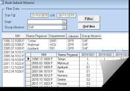 format rekap absensi pegawai software absensi karyawan program absensi sidik jari