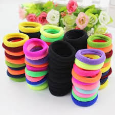 hair holders mix color hair accessories hair holders rubber bands colorful hair