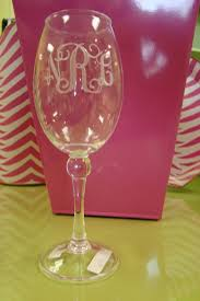 graduation wine glasses monograms inc engraved acrylic wine glasses