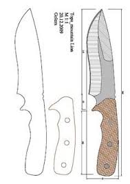 knife patterns 80 pages of great knife templates smithing blades pinterest