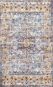 Viscose Rugs Made In Belgium Louvairenv14 Obscure Floral Medallion Rug Rugs Usa Kitchen Reno