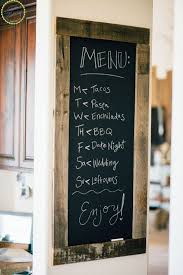 Ideas For Decorating Kitchen Walls Best 25 Kitchen Chalkboard Walls Ideas On Pinterest Blackboard