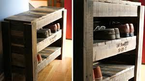meuble de cuisine fait maison meuble a chaussure en bois de palette maison design bahbe com