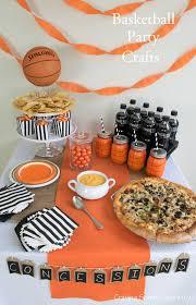 basketball party ideas diy basketball themed party party ideas