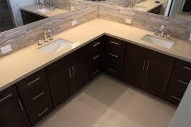 Vanity Bathroom Suite by Shaped Bathroom Vanities Home Design Ideas Pictures Remodel And