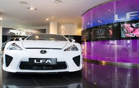 lexus lfa v10 yamaha new lexus lfa arrived in europe automotorblog