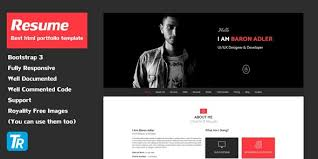 codester resume v1 0 personal portfolio web template html css