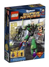 Onetwobrick Database Lego 6862 Superman Power Armor Lex