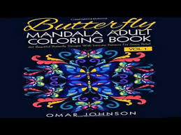 butterfly mandala coloring book vol 1 60 beautiful butterfly
