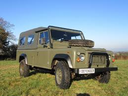 military land rover 110 military vehicle 1985 land rover defender exmoor offroad for sale