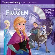 Frozen Storybook Collection Walmart Frozen Ras 8x8 Ok And Cd Walmart